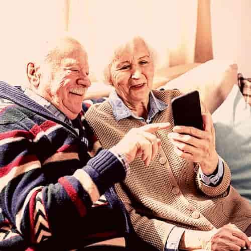 Les usages du mobile personnes agées sur internet