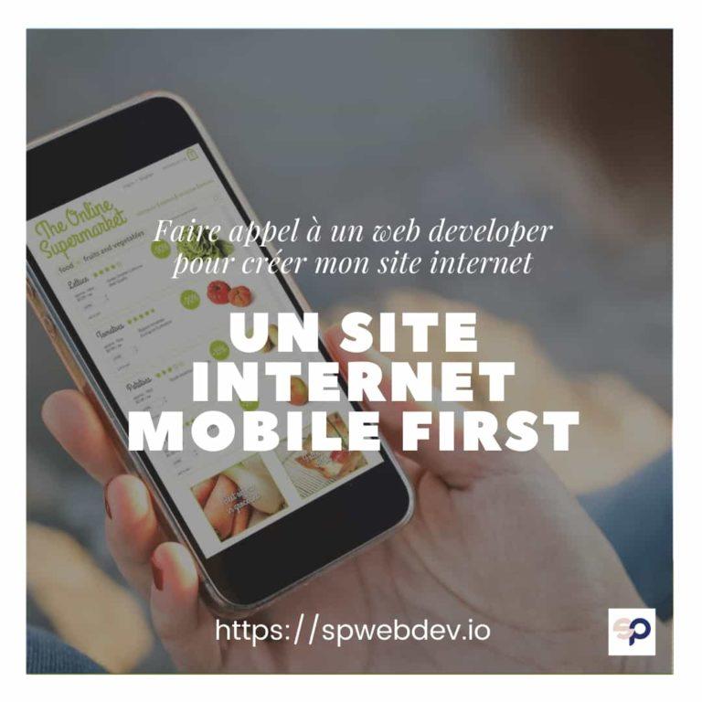 Un site web mobile first
