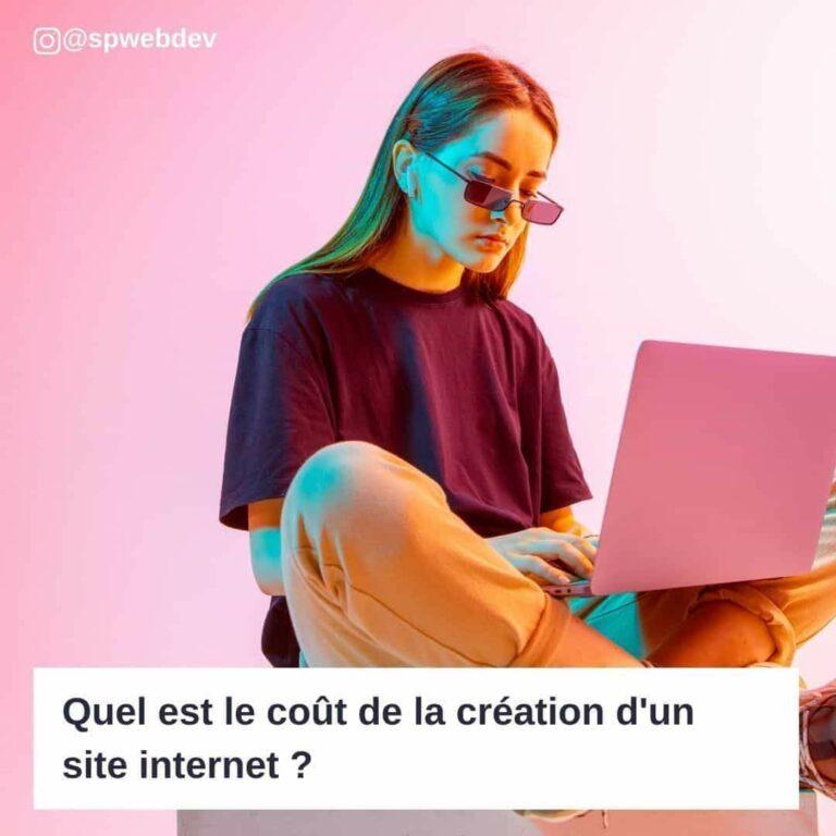 Quel est le coût de la création d'un site internet ?